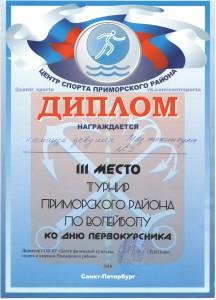 Волейбол Турнир Приморского района (девушки)